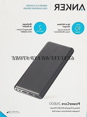 Anker PowerCore Ultra Capacity Power Bank 6A Output -