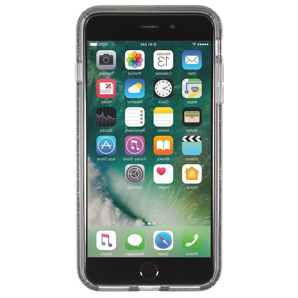presidio clear glitter cell phone case