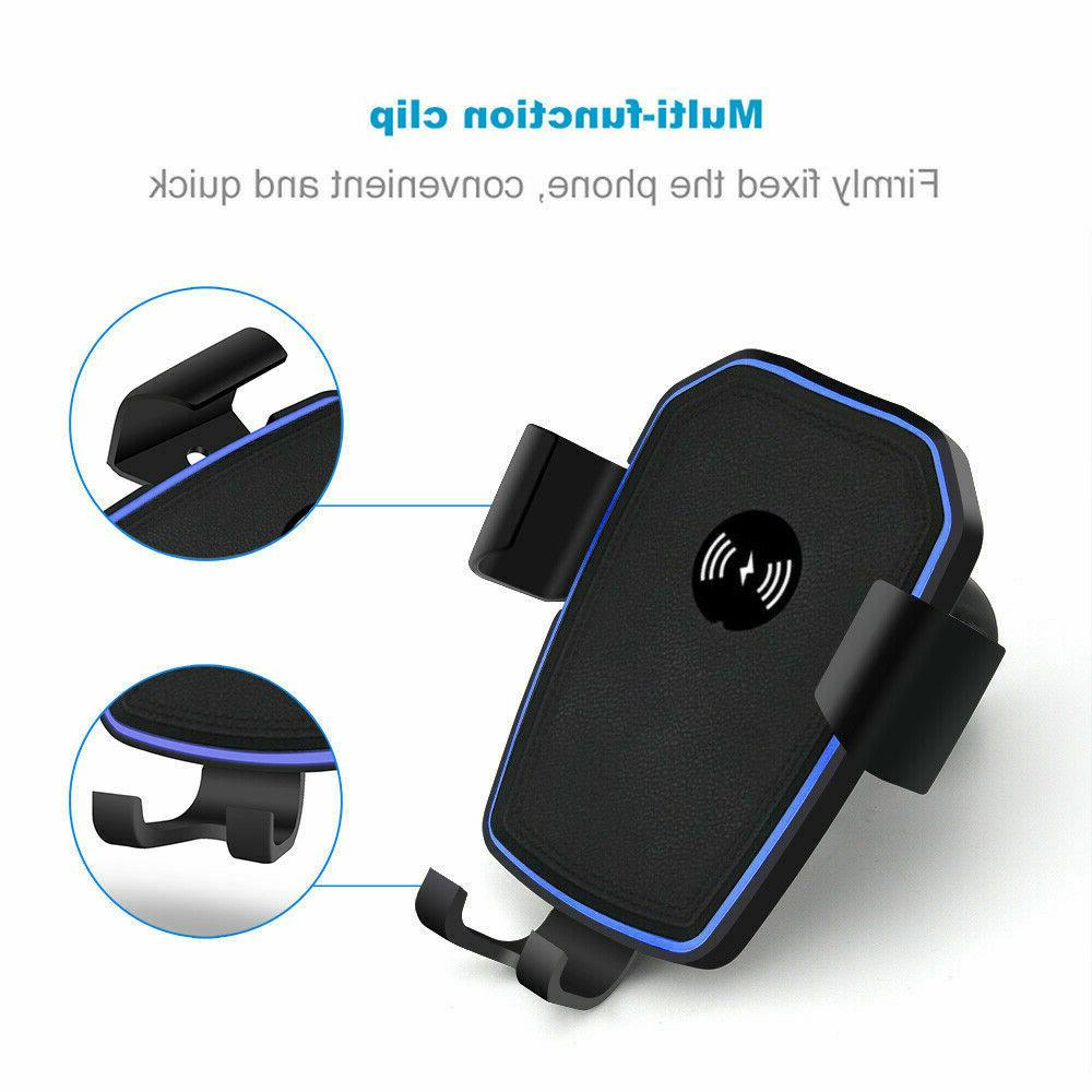 Qi Charging Car Charger Mount Stand 1 For