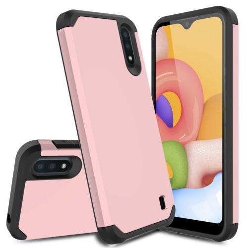 For Samsung A11 A10e A20 Case Shockproof Hybrid Phone Cover