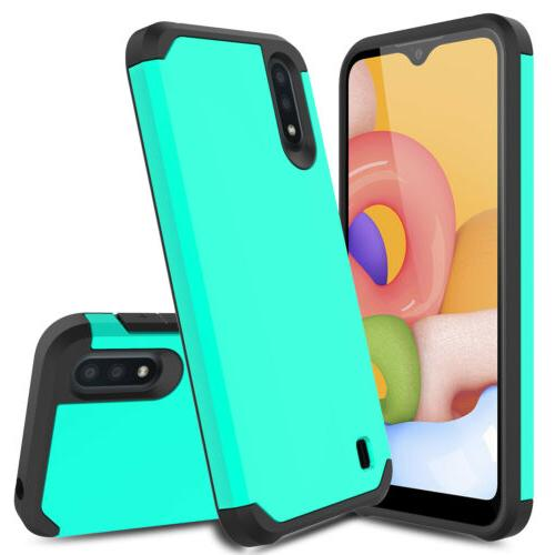For Galaxy A11 A10e Case Shockproof Hybrid Armor Phone Cover
