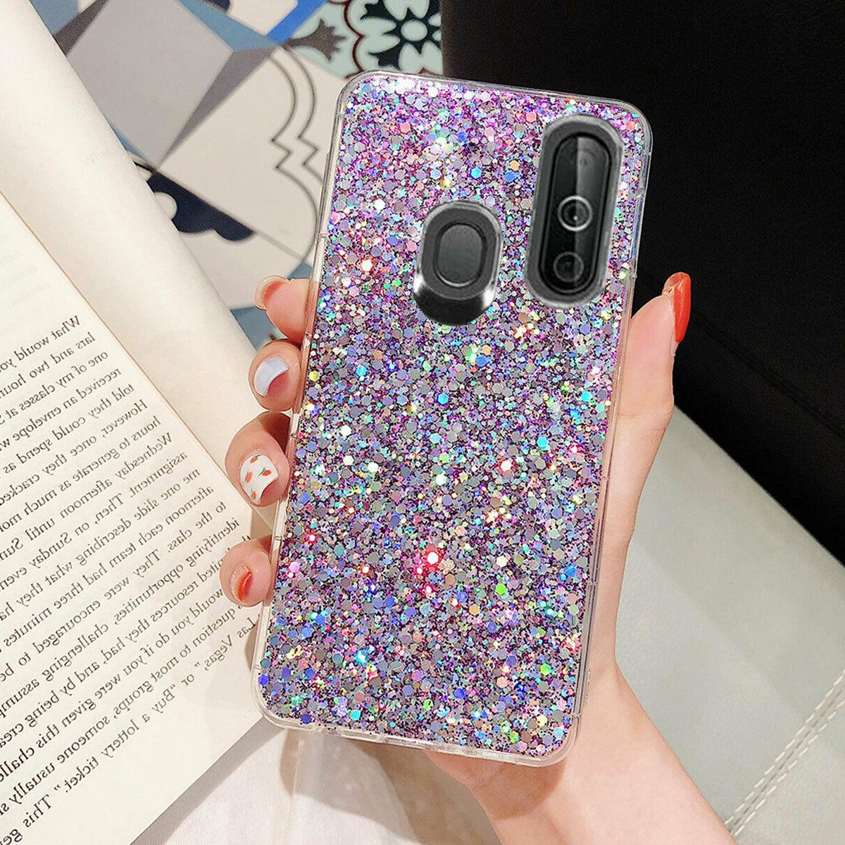 Samsung A50 Shockproof Bling Cover