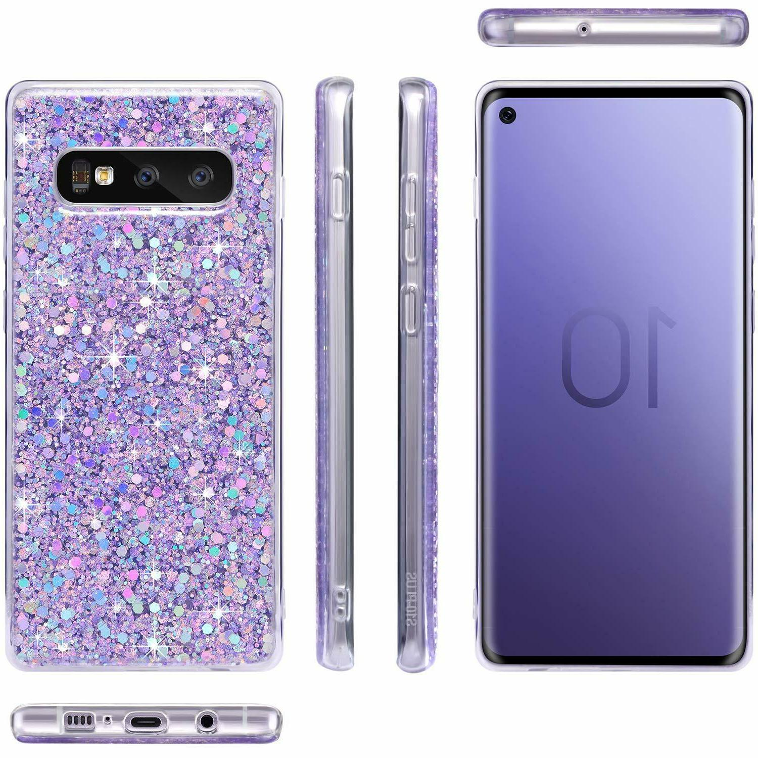 Samsung A50 Shockproof Bling Phone Case Cover