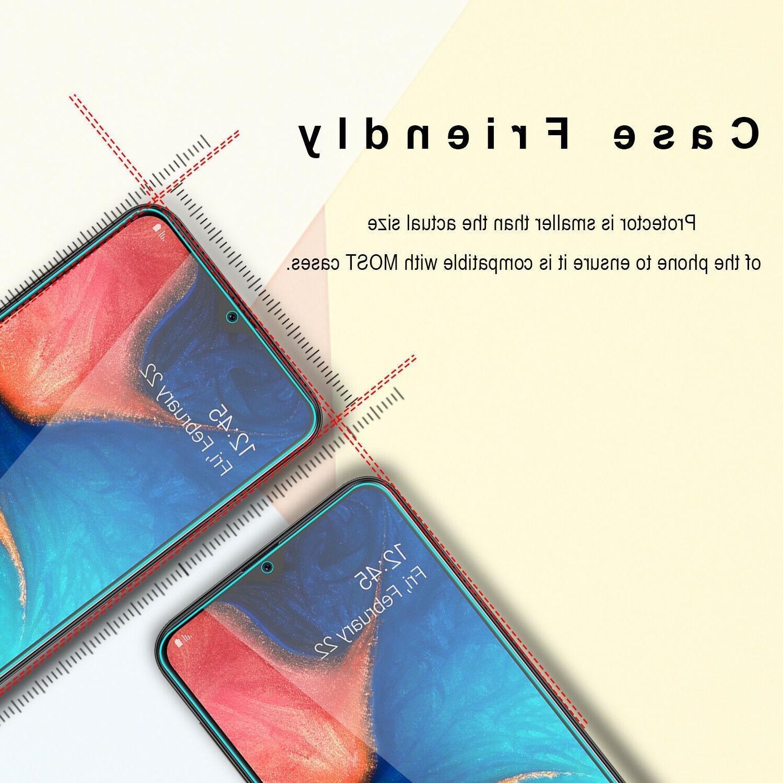 For Samsung A20 Case Armor HD Screen Protector