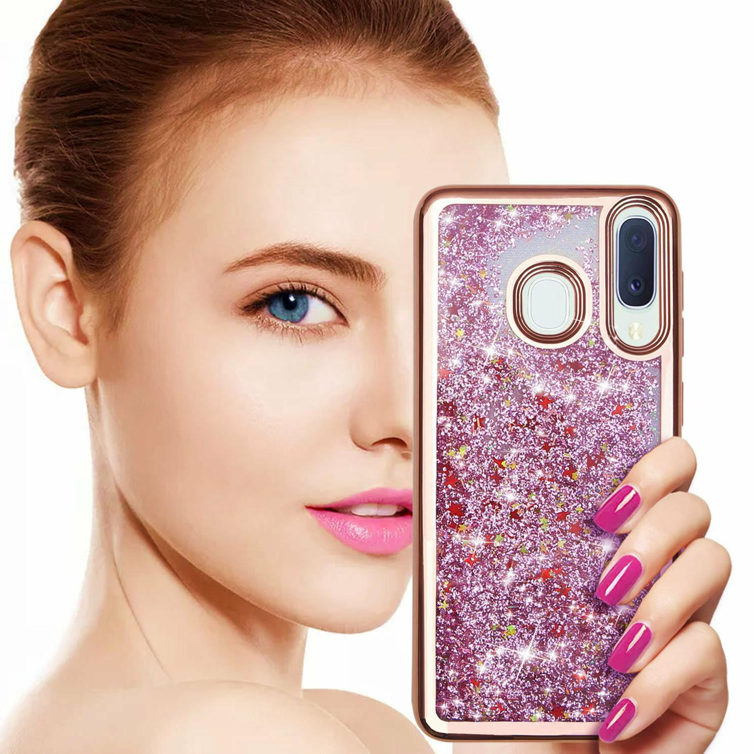 For Galaxy A20 Phone Cover, Bling