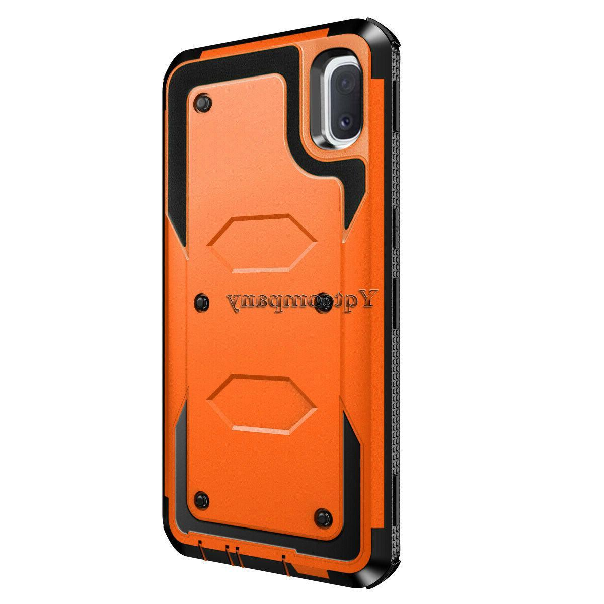 For Samsung A30 Shockproof Hybrid Cover