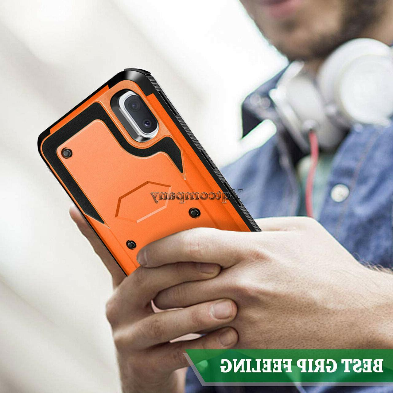 For Galaxy A20 A30 A50 A10e Shockproof Rugged Hybrid Cover