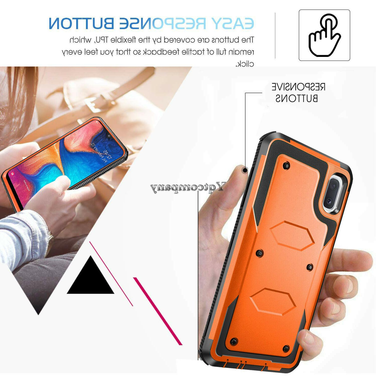 For Galaxy A30 Shockproof Rugged Phone Cover