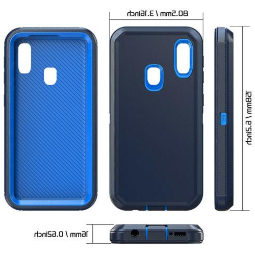 Samsung A50 Case Clip Holster Stand Hybrid Phone