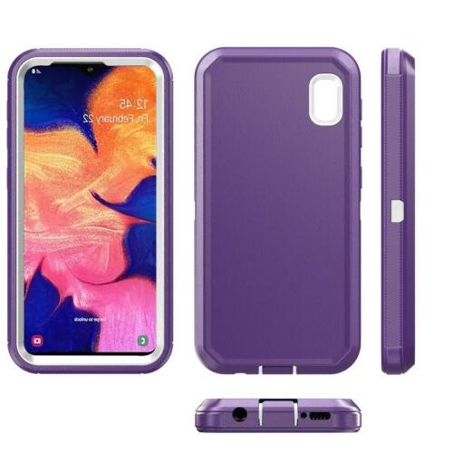Samsung Galaxy A50 Case Belt Clip Holster Hybrid Phone