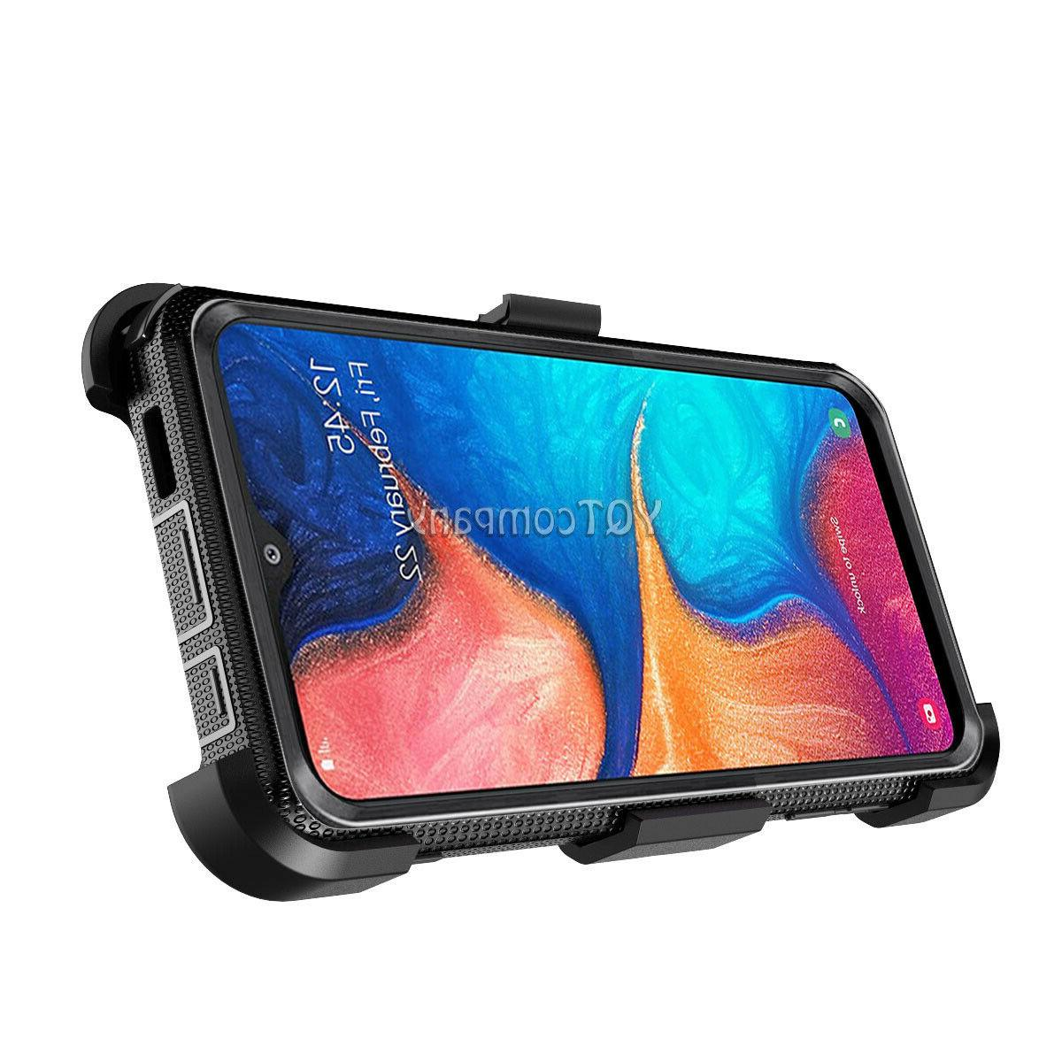 For Samsung Galaxy A20 A10e Case Belt Phone Screen Protector