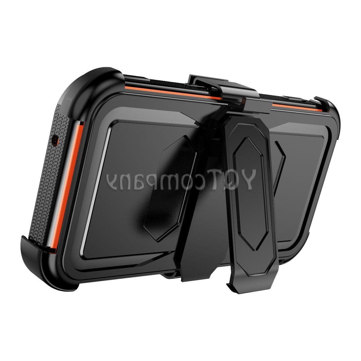 For Samsung Galaxy J7 S7 Hybrid Rugged Armor Holster Stand Cover