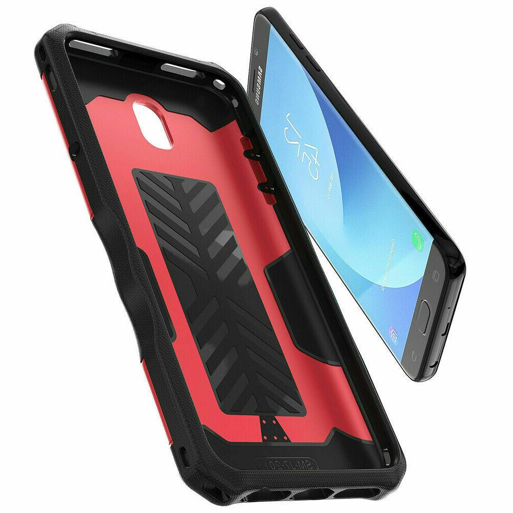 For Samsung Armor Case+Tempered