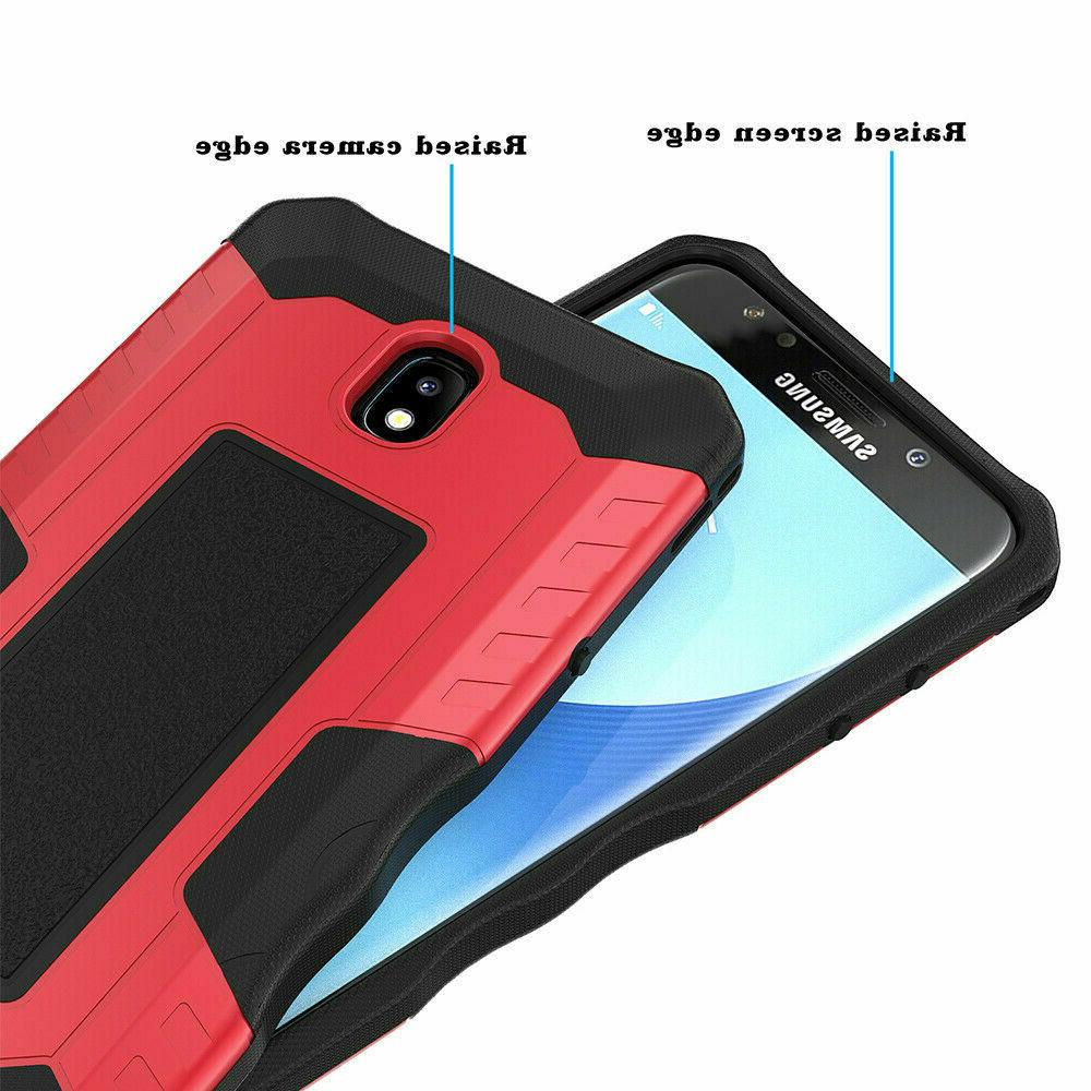 For Samsung Galaxy Star Armor Case+Tempered Glass