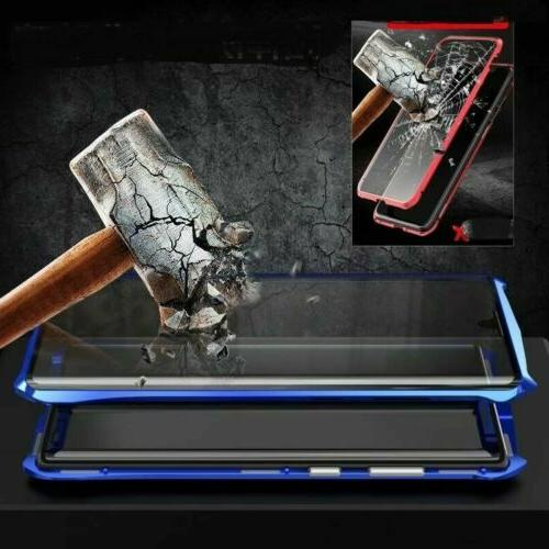 Magnetic Absorption Case Samsung Note Plus Front+Back