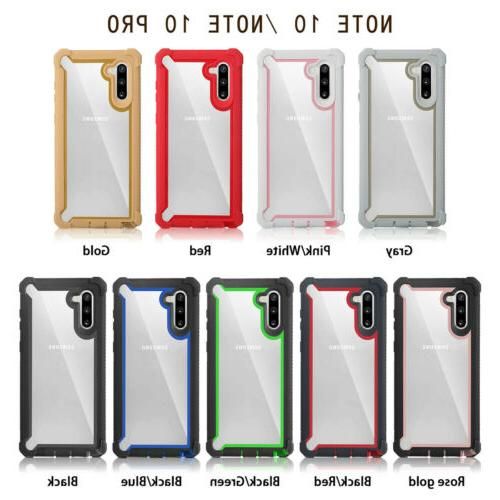 For Galaxy 10 Plus Hybrid Rugged Cover