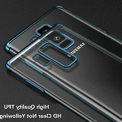 For Samsung 8 9 S9 S20 Thin Clear Soft Case Cover