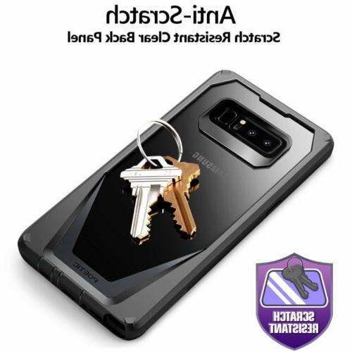 Poetic For Samsung Note Scratch Rugged Case Black