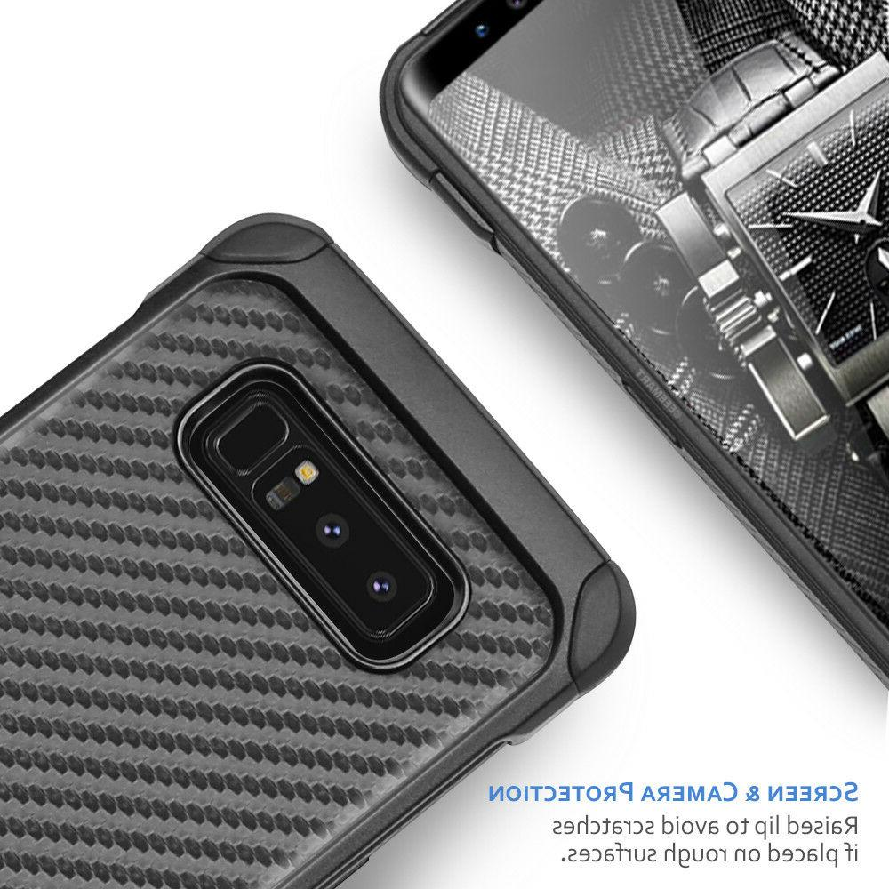For Plus/S10/S10e/Note Carbon Fiber TPU Armor Case