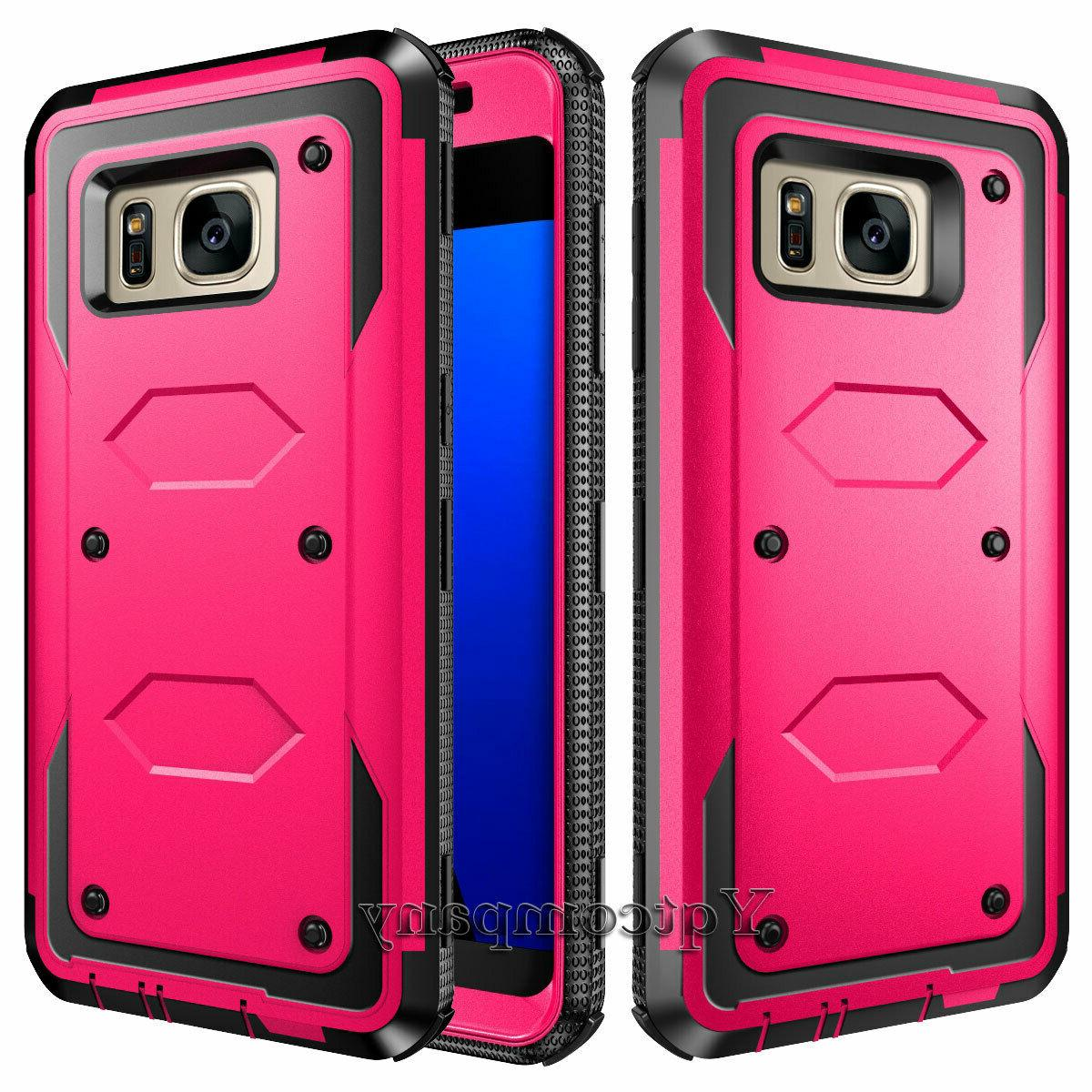 For Samsung Edge/S8/S9/S20/Note 10 Plus Phone Case