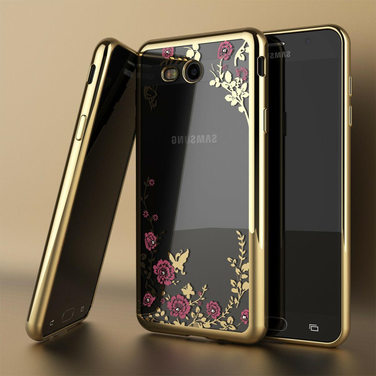 For Galaxy S7 Hybrid Crystal Clear Case