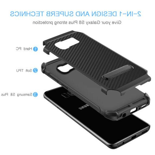 For Samsung Galaxy S8 Plus Carbon Fiber Cover
