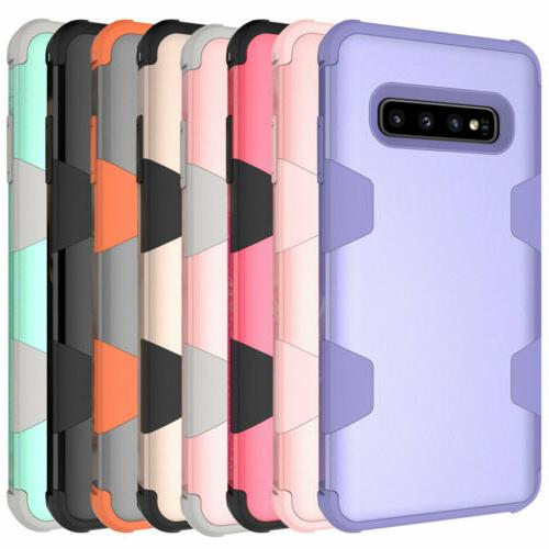 For Samsung S8 S9 S10 Plus 8 Heavy Duty Hard Cover