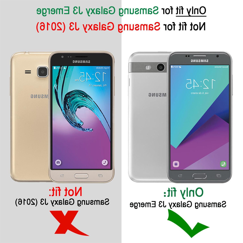 Shockproof Hybrid Phone Case Cover Samsung J3 /Luna /Prime