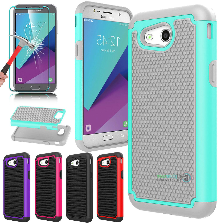 shockproof hybrid phone case cover for samsung