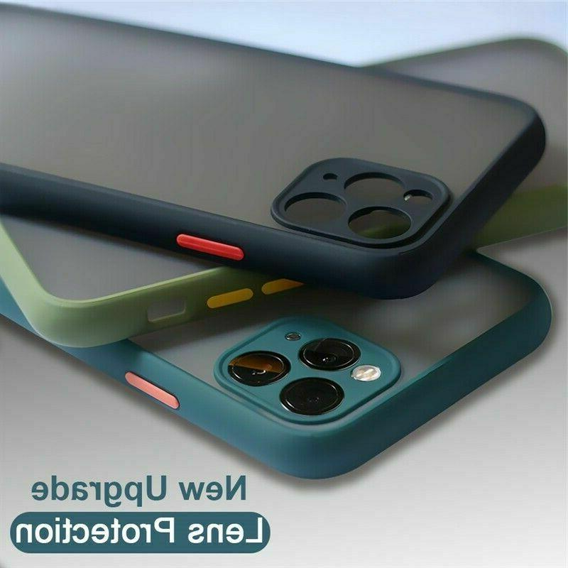 SHOCKPROOF plating clear Case For iPhone 12 11 Pro MAX Mini