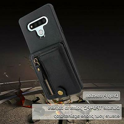 Harryshell Shockproof Slim Zipper 6 Wallet Case Slot
