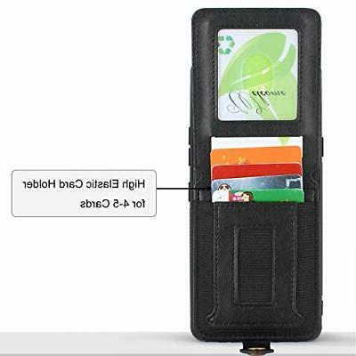 Harryshell Shockproof Leather Zipper Stylo 6 Wallet Card Slot