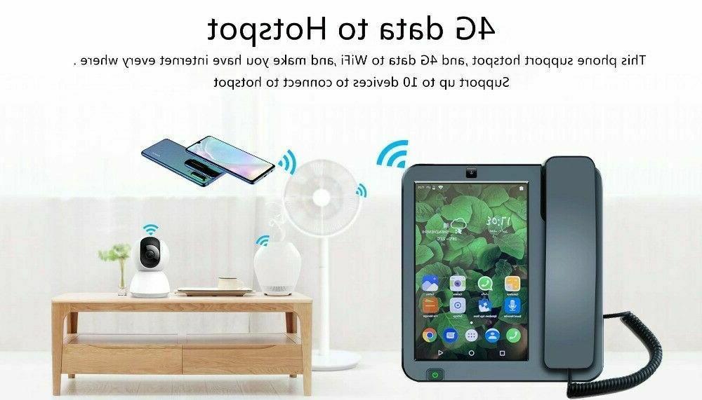 Smart Wireless Landline Android6.0 Network Videophone