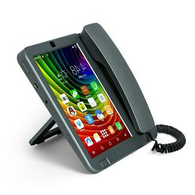 """Smart LTE WiFi Fixed landline 8"""" SIM Phone Android 6.0 videophone"""