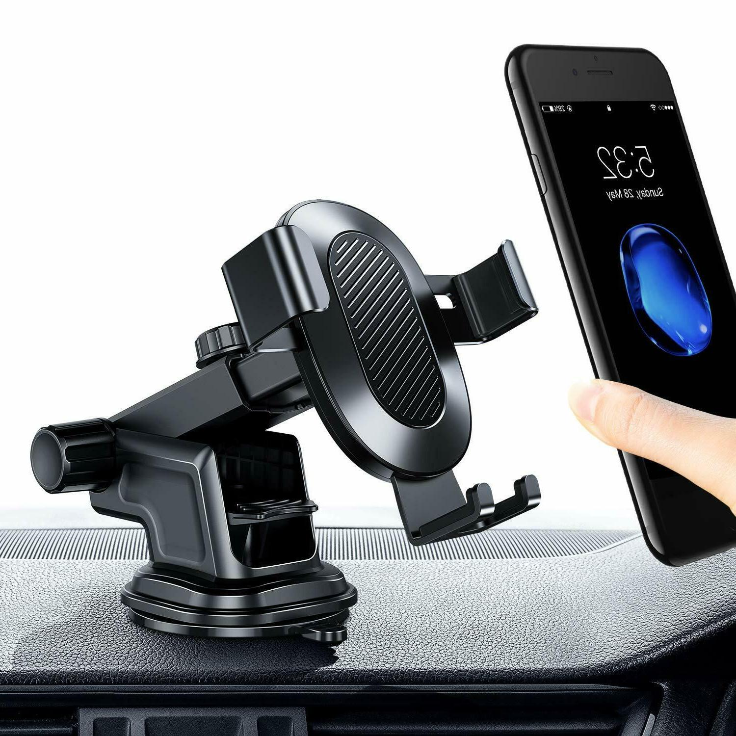 torras cell phone car holder auto clamping