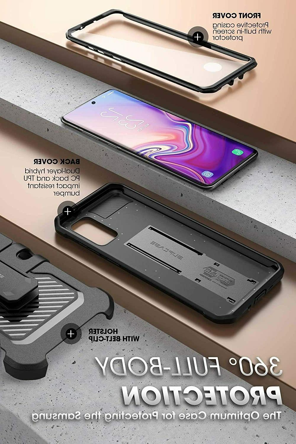 SUPCASE UBPro Screen Protector Case Rugged Stand for Samsung FE