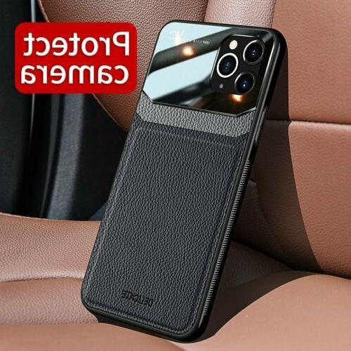 Slim Leather Case 12 XS Max 7 Plus