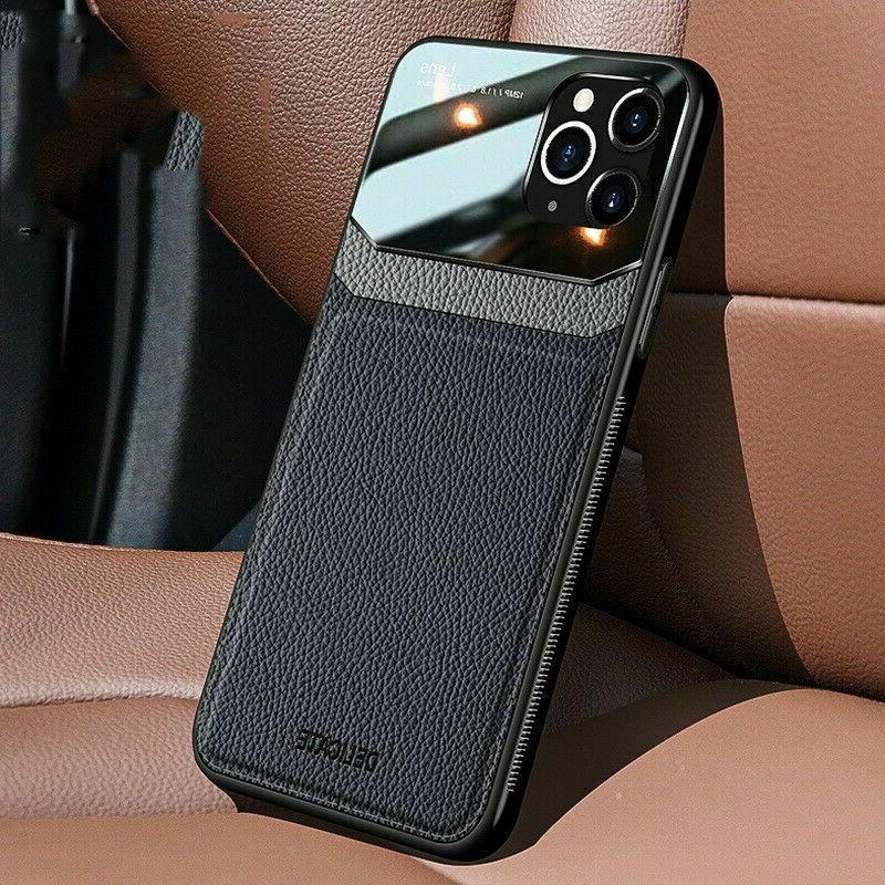 ultra slim leather hybrid phone case cover