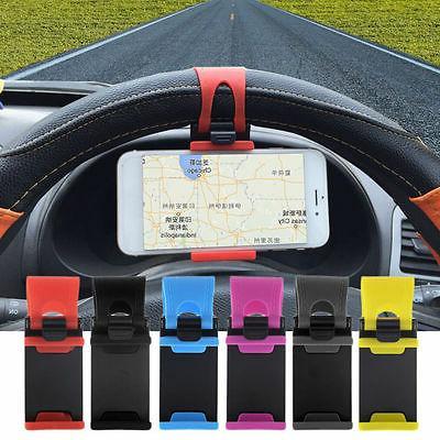 universal car steering wheel mobile phone holder
