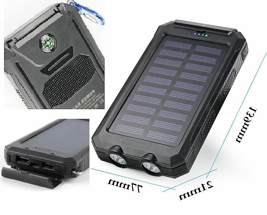Portable Solar Charger Power Bank