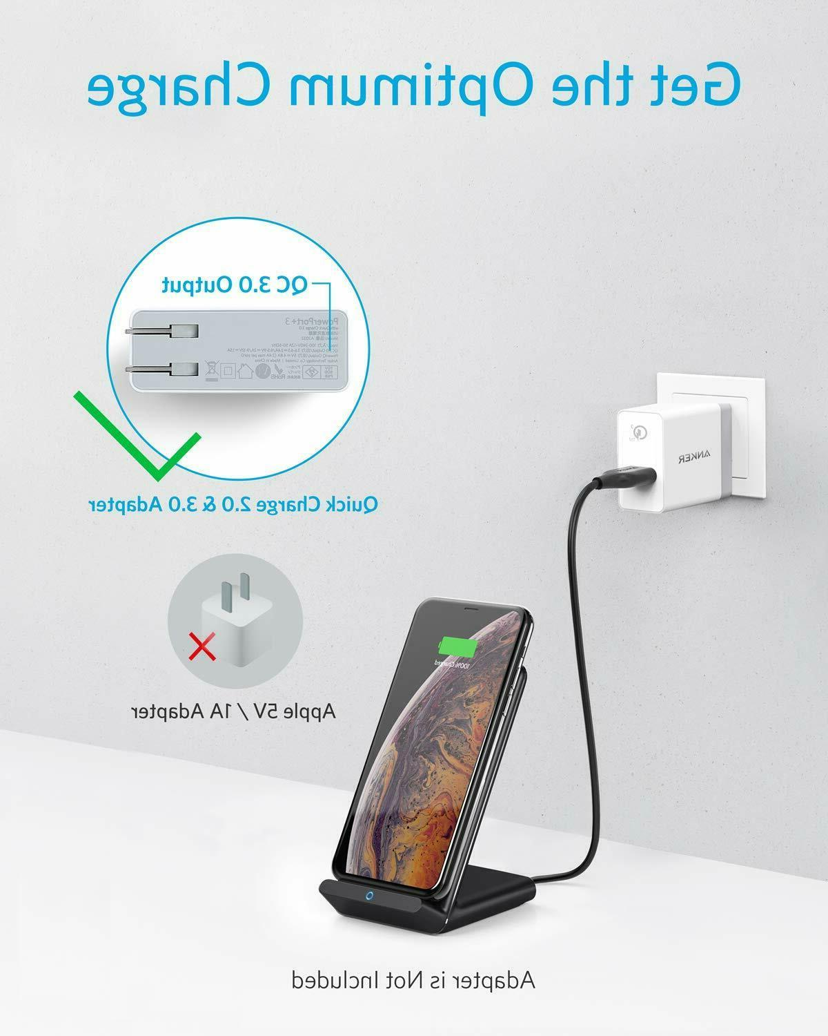 Anker Charger Max Qi-Certified No AC Adapter