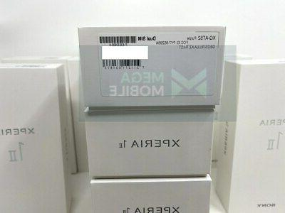 Sony XPERIA XQ-AT52 GLOBAL 256GB RAM DUAL SIM | COLORS