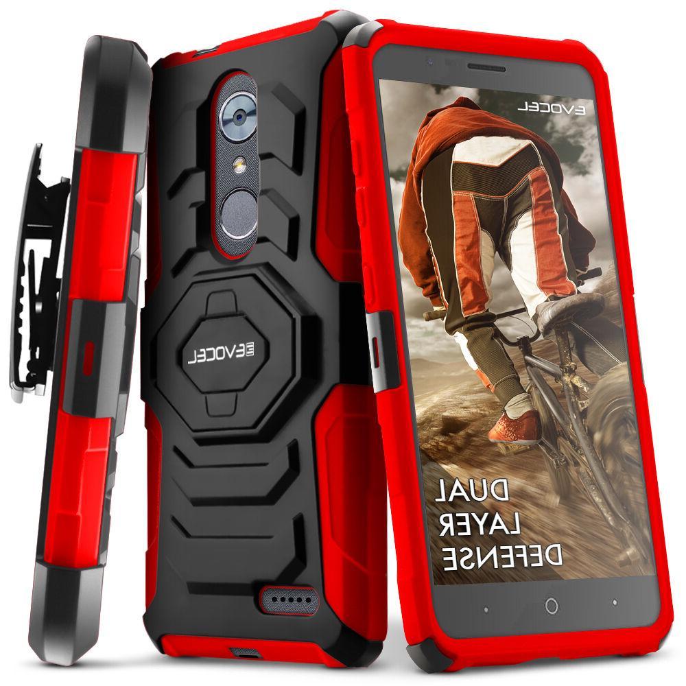 ZTE XL Case, Evocel Holster w/ &