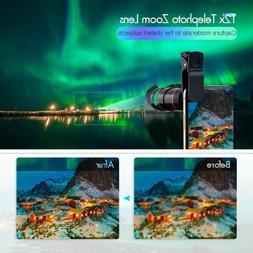 Cell Phone Telephoto Lens Cell Phone Camera Lens Kit Phone L