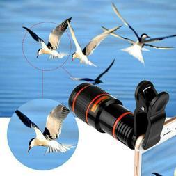 Lens Cell Phone Camera Lens Kit 12x Zoom Telephoto Lens Phon