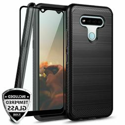 For LG Stylo 6 Phone Case Shockproof Slim Brushed Armor Cove