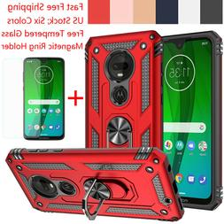 For Motorola Moto G7 Plus/Power/Supra/Play Armor Case Cover+