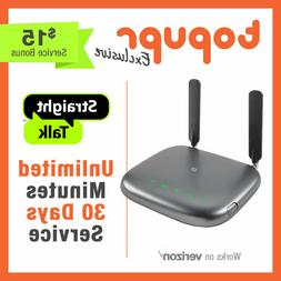 NEW Straight Talk Wireless Home Phone Landline Station ZTE Z