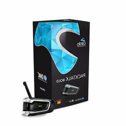 Cardo PackTalk BOLD Headset w/ JBL Bluetooth Speaker Scala R
