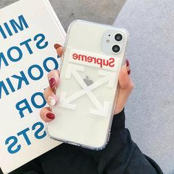 Phone Case for iPhone compatible w/ Sup & Off White Shipping
